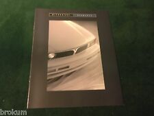 1993 MITSUBISHI DIAMANTE SALES BROCHURE MINT ORIGINAL W/ COLOR CHART (BOX 475)