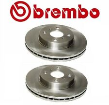 2 Brembo Front Brake Disc Rotor Coat Set Pair for Chevy Prizm Geo Toyota Corolla