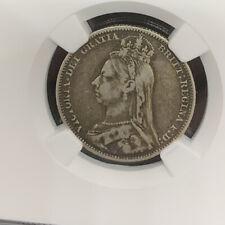 Great Britain 1891 Shilling (#480) NGC VF25