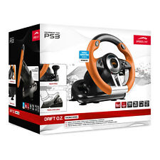 SPEEDLINK DRIFT OZ RACING WHEEL WITH PEDALS AND GEAR STICK FOR PS3  SL-4495-BKOR