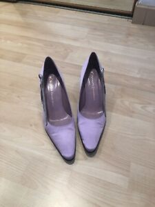 Ladies size 5 (38) Lilac court shoes and Bag