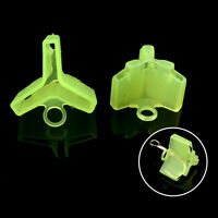 10/50Pcs Durable Fishing Treble Hooks Jig Covers Case Bonnets Caps*Protector MMR