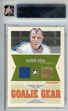 Glenn Hall Ultimate Memorabilia 6th Ed Goalie Gear Jersey Stick 2/25