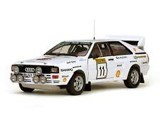 SUNSTAR 4228 Audi Quattro A2 Modelo de Coche LAMPI KUUKKALA 1000 Lagos Rally 1983 1:18