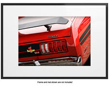 1971 Dodge Demon 340 Dart Photo Print 13x19 Mancave Art 440 Poster Mopar Red