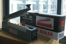 "12"" Hand Impulse Sealer Heat Seal Machine Poly Sealing Free 2 Accessories  kits"