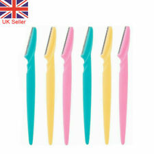6X Face Eyebrow Razor Trimmer Dermaplaning Shaper Shaver Hair Removal Tool Women