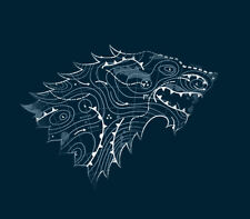 STARK FORECAST A Game Of Thrones George R R Martin Books GoT NEW TEEFURY T-SHIRT