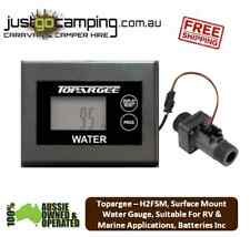 "Topargee H2Flow ""Surface Mount"" Water Tank Gauge, RV, Motorhome, Boat, Caravan,"