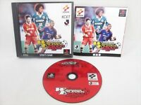 Jikkyo WINNING ELEVEN 2000 2nd J League PS1 Playstation PS Import JAPAN Game p1