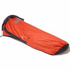 Aqua Quest Hooped Bivy Waterproof Tent Single Pole Multi Season Shelter - Orange
