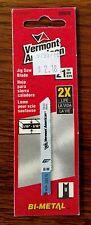 "Vermont American 30076 jigsaw blade 21 TPI  fine metal, 2 3/4"" bi-metal"