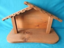 Vintage Maxcraft Goebel Hummel For #214 NATIVITY STABLE SET MANGER 14x9x6