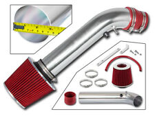 RAM AIR INDUCTION INTAKE KIT+ RED DRY FILTER FOR 96-98 Civic HX EX 1.6L L4