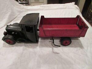 RARE Buddy L Jr. Dump Truck 1932 Pressed Steel