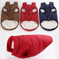 Pet Dog Winter Breathable Soft Warm Coat Sweater Puppy Fleece Vest Jacket