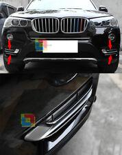 MODANATURE BMW X3 F25 2014+ CROMATURE ADESIVE PER GRIGLIE LATERALI 4 PEZZI INOX