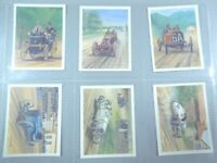 Tom thumb  HISTORY OF MOTOR RACING vintage cars set 30 cards Tobacco Cigarette