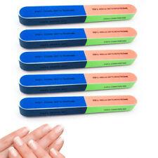 5 Pc Nail Art 7 Way Nail Shiner Buffer Buffing Block Sanding Files Manicure Mash