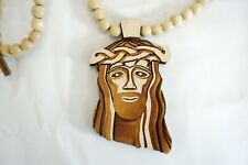 Good Wood NYC Jesus Natural 2013 Season Classic Wooden Pendant Necklace Limited