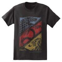Game Of Thrones STARK TARGARYEN LANNISTER HOUSES T-Shirt NWT