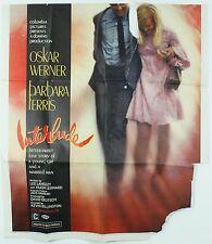 Vintage Original 1968 Interlude Columbia Pictures Oskar Werner Movie Poster