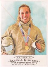 2009 Topps Allen and Ginter Baseball #212 Mariel Zagunis Fencing Champion