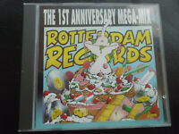 ROTTERDAM  RECORDS   -   The  1ST ANNIVERSARY  MEGA-MIX ,   CD  , TECHNO,GABBER