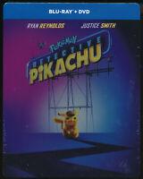 PLTS Detective Pikachu  BLU-RAY + DVD Steelbook  D303012