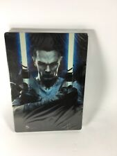 Star Wars: The Force Unleashed II ( Xbox 360 ) New Rare Steel Book Sealed!!