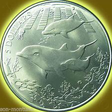 2014 Turquoise Dolphin - 990 TITANIUM Coin in BOX + COA British Virgin Islands