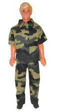 Camouflge Shirt & Pants-will fit Ken Dolls