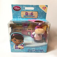 NEW Disney Store - DOC McSTUFFINS - Blink & Twist HALLIE Hippo Figure Kids Toy