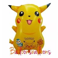 "24"" Pokemon  Pikachu  Balloon Helium Party Birthday Decoration"
