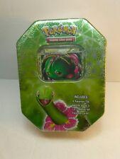 1x  Collector's Tin (Meganium) NM-Mint Sealed Product - Pokemon