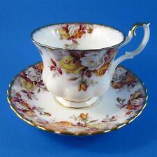 Royal Albert Lenora Tea Cup and Saucer Set