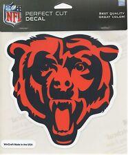 "Perfect Cut Decal - Chicago Bears - Bear logo  Sticker NFL 7"" - New"