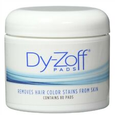 CO-41621 BARBER SALON BEAUTY DY-ZOFF HAIR COLOR DYE TINT STAIN REMOVER 80 PADS
