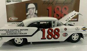 RALPH EARNHARDT 1957 OLDSMOBILE OLDS HARDTOP 1/24 TOOLBOX TREASURES DIECAST CAR