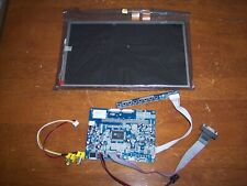 VGA AV LCD Controller Board With 10.2 inch 800x480 LCD Screen