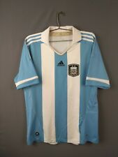 3/5 Argentina jersey Large 2011 2013 home shirt V32111 football Adidas ig93
