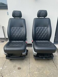 vw t5/t5.1/t6 Single front seats, driver and passenger with swivel base