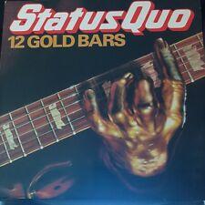 New listing Status Quo Vinyl 12 Gold Bars 1980 EX