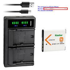 Kastar Battery LTD2 Charger for Sony NP-BN1 BC-CSN Sony Cyber-shot DSC-QX100