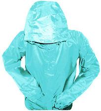 WATERPROOF WINDPROOF BREATHABLE JACKET Ladies 10 lush duck egg blue rain coat