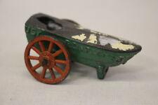 VINTAGE Barclay Manoil Toy, Lead Pontoon Boat W/Red Spoke Wheels