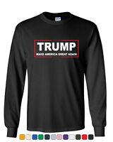 TRUMP Long Sleeve T-Shirt Make America Great Again
