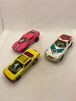 Corgi & Matchbox Racing Car Collection X3 Play Worn