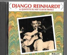 CD ALBUM 12 TITRES--DJANGO REINHARDT & QUINTETTE DU HOT CLUB DE FRANCE--1985