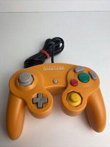 Nintendo GameCube Controller Orange Joystick Pad NGC DOL-003 OEM